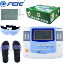 Electronic Pulse Therapy Massager Device Physiotherapy Instrument Ultrasound Digital Health Care EF-29 with Massager Slippers