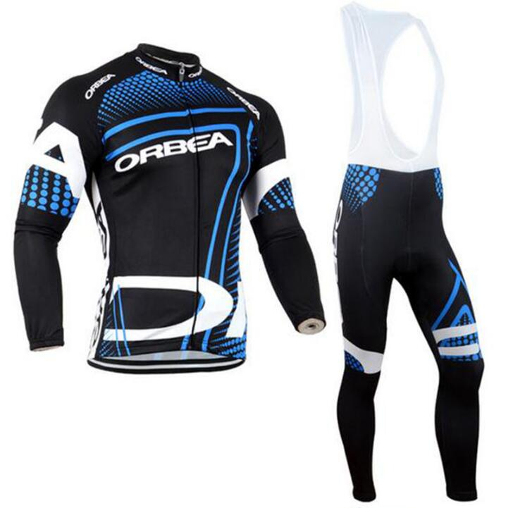 Team orbea Long Ropa Ciclismo Cycling Jerseys/Autumn Mountian Bicycle Clothing/MTB Bike Clothes For Man #587 live team cycling jerseys suit a001