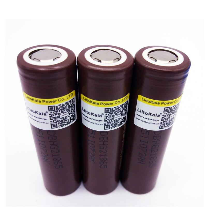 Baterias Recarregáveis lg hg2 18650 3000 mah Marca : Liitokala