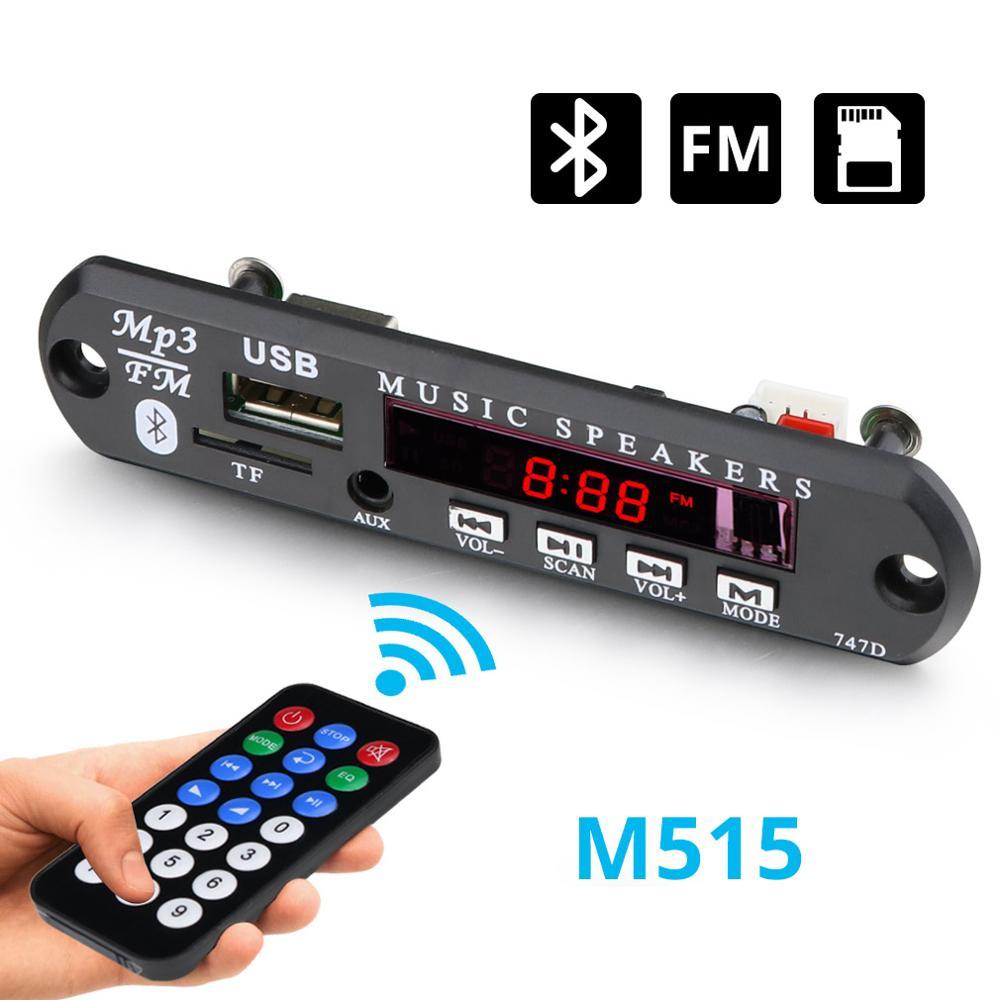 Wireless Bluetooth 12V MP3 WMA Decoder Board Audio Module USB TF Radio For Car Accessories Bluetooth Audio Decoder Board Module