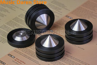 4pcs D49mm Sound Isolation Feet Speaker Spikes HIFI Audio Cones Mounts