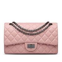 Women Messenger Bags 2016 Brand Genuine Leather Tote Shoulder Bag Luxury Handbag Women Crossbody Bags