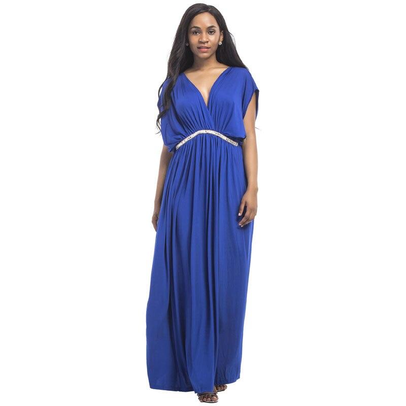 Длинные свободные v-образным вырезом сексуальные вечерние платья для беременных женщин Одежда для беременных платье леди Gravidas Vestidos Одежда
