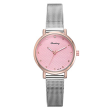 Luxury Watch Women Fashion Silver Ultra-thin Mesh Wrist Watches for Casual Rose Gold Quart Ladies Reloj Mujer