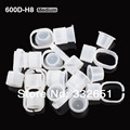 CHUSE 10pcs Medium Size Ink Holder Rings Permanent Makeup Easy Ring Ink Container/Cups Cap SupplY Cosmetic  Tattooing tattooing