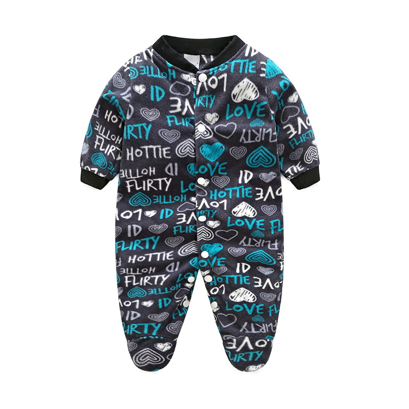 One Piece Autumn Winter Baby Rompers Jumpsuit Comfortable Clothes For New Born Babies 0-12M Baby Wear Newborn Baby Romper Infant autumn baby rompers brand ropa bebe autumn newborn babies infantial 0 12 m baby girls boy clothes jumpsuit romper baby clothing