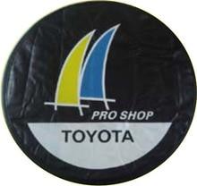 """2015, usine directe vente. pour Toyot/un hors-route de rechange de couverture de pneu personnalisé signes 14 """"15"""" 16 """"17"""" PU roue de secours couverture livraison gratuite"""