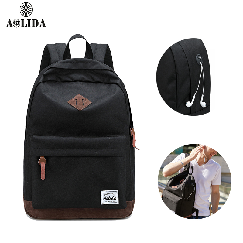 School Backpack For Boys and Girl Waterproof Nylon Travel Backpack Teenagers Student Schoolbag Large Capacity