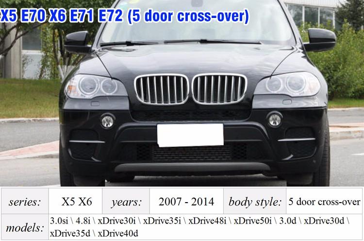 X5 X6 E70 E71