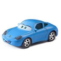 Disney Pixar Cars 2 3 Role Sally Lightning Mcqueen Jackson Storm Mater 1:55 Diecast Metal Alloy Model Car Toy Children Gift Boy