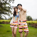 Rainbow Printing Female Couple Beach Casual Shorts Female Vacation Beach Quick-drying