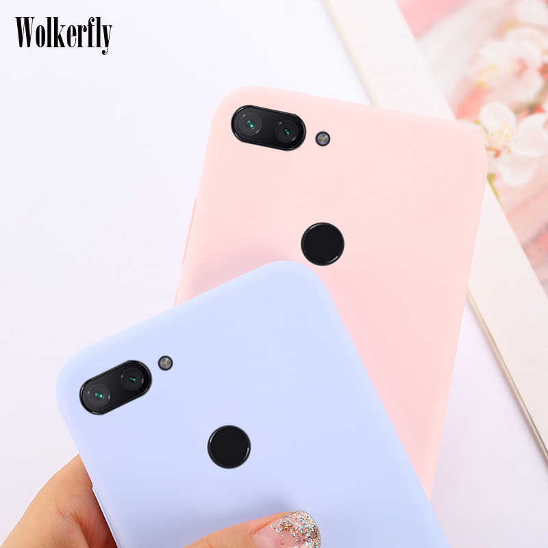 Candy Color Case for Xiaomi Mi 9 8 Lite 6X A2 A1 5X Max 3 Soft Silicon On Redmi Note 6 Pro 7 5A Redmi 5 Plus Redmi Note 5 4X 4A