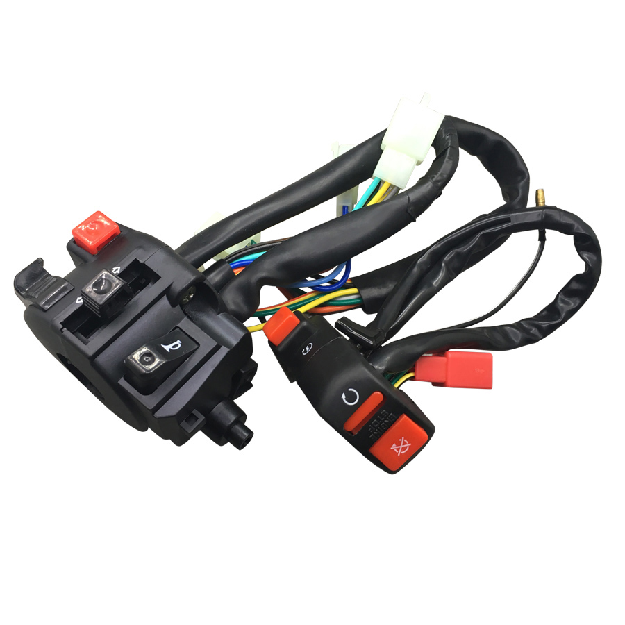 For Honda CBR400 NC23 NC29 VFR400 NC30 <font><b>CBR250RR</b></font> Motorcycle Parts Turn Signal Switch Motorbike Horn Control Start Off Button image