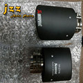 102mm outlet Carbon Fiber akrapovic car Exhaust Muffler Tip Automobile carbon Exhaust tip Pipe Tail