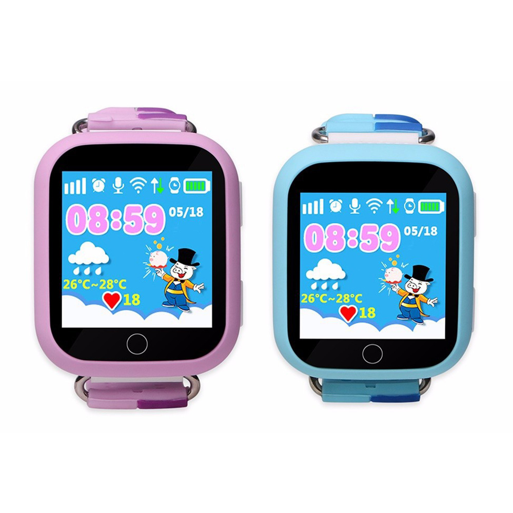 Image 2 - 2019 HOT GW200S Q100 Kid Smart Watch GPS Wifi Positioning SOS Tracker Baby Safe Monitor Smartwatch pk Q90 Q50 Q528 Q750 Watches-in Smart Watches from Consumer Electronics