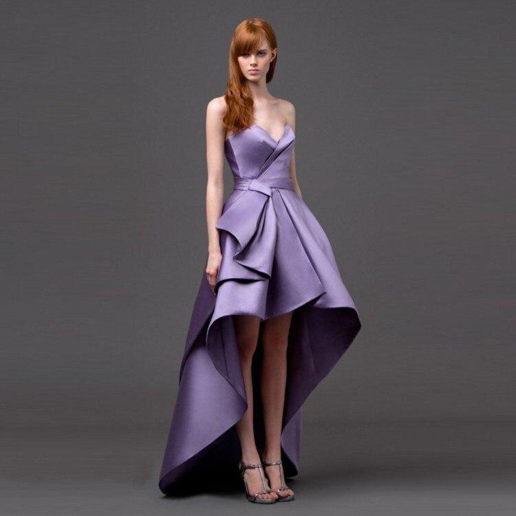 Magnífico Vestido De Cóctel Un Hombro Bajo 100 Motivo - Ideas de ...
