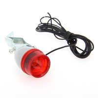 3 Pcs SX04 Cycling Flashlight Torch Headlight Tail Light Rear Light Dynamo Lights Set Warning Light
