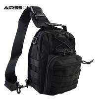 Tactical 1000D Molle Tactical Low Profile Bag Shoulder Messenger Bag Nylon Waterproof Backpack Bag For Outdoor