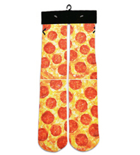 Смешно пищевой 3d носки для пиццы/бекон/суши/конфеты/жареные чипсы полный печати носки мужчины женщины моды спортивная смешные носки 21 стиль
