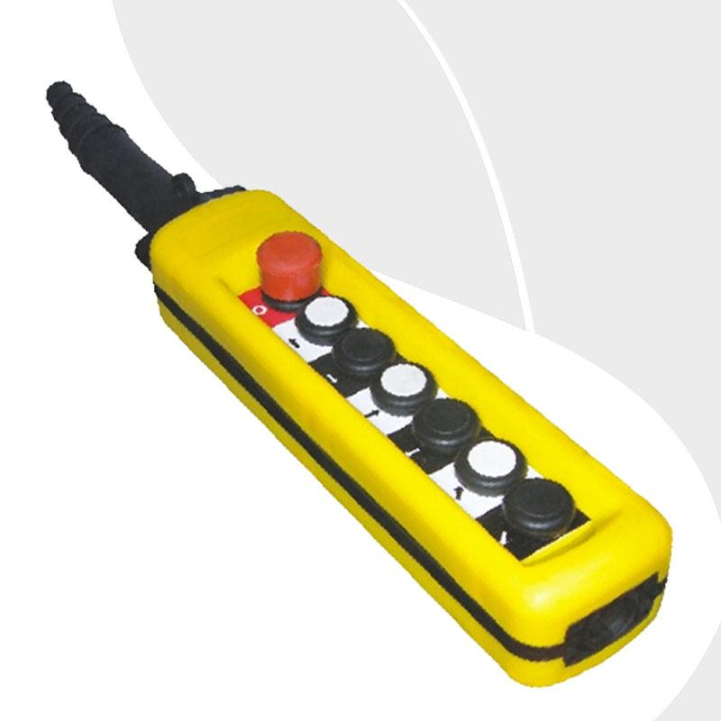 Trasporto libero-a6713 7 button single speed gru derrick motore pulsante di controllo di controllo