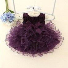 Мальчики платье принцессы платье балетной пачки детская фотосъемка одежды платье elegant фиолетовый луна туту платье