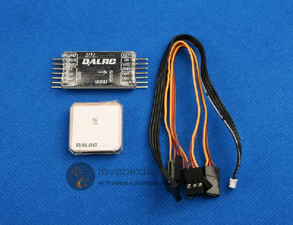 DAL QOSD full-function independent OSD overlay module V1.5 FPV mini racing drone RC multirotor aerial QAV250/ZMR250/QAV280 aat convert module for other brand osd the newest skylark automatic aerial conversion antenna tracking cooperate with use new