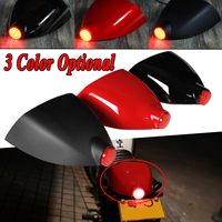 Unversal Motorcycle Cafe Racer Rear Seat Cowl Cover For Fender Splash Guard Tail Light For Yamaha For Honda For KTM For Kawasaki