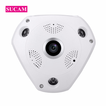 Wide Angle 2MP IP CCTV 180 Degree Camera Indoor High Resolution 1920*1080P Dome Video Surveillance Home Security Camera ONVIF 100 degree wide angle len ip 1080p network wired security surveillance indoor home cctv camera infrared h 264 dome cameras