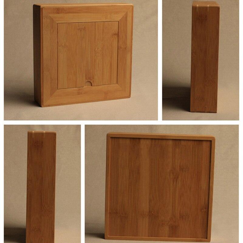 Premium Bamboo Pu-Erh Storage Gift Box Handmade 4