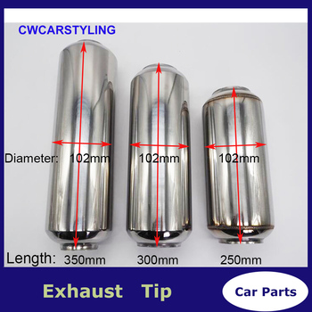 Universal Auspuff tip Muffler 63mm (2,5