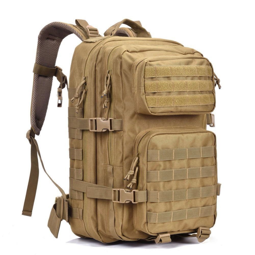 MACWAVE Military Tactical Backpack Molle Bug Out Bag Large Assault Pack 3 Day Army Rucksacks Outdoor Hunting Backpacks 45L