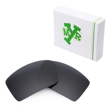Mryok POLARIZED Replacement Lenses for Oakley Eyepatch 1 2 Sunglasses Stealth Black