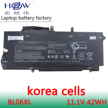 New Genuine laptop batteries for HSTNN-DB5D,HSTNN-W02C,BL06XL,722236-2C1,EliteBook Folio 1040 G1,L7Z22PA,11.1V,6 cell цена и фото