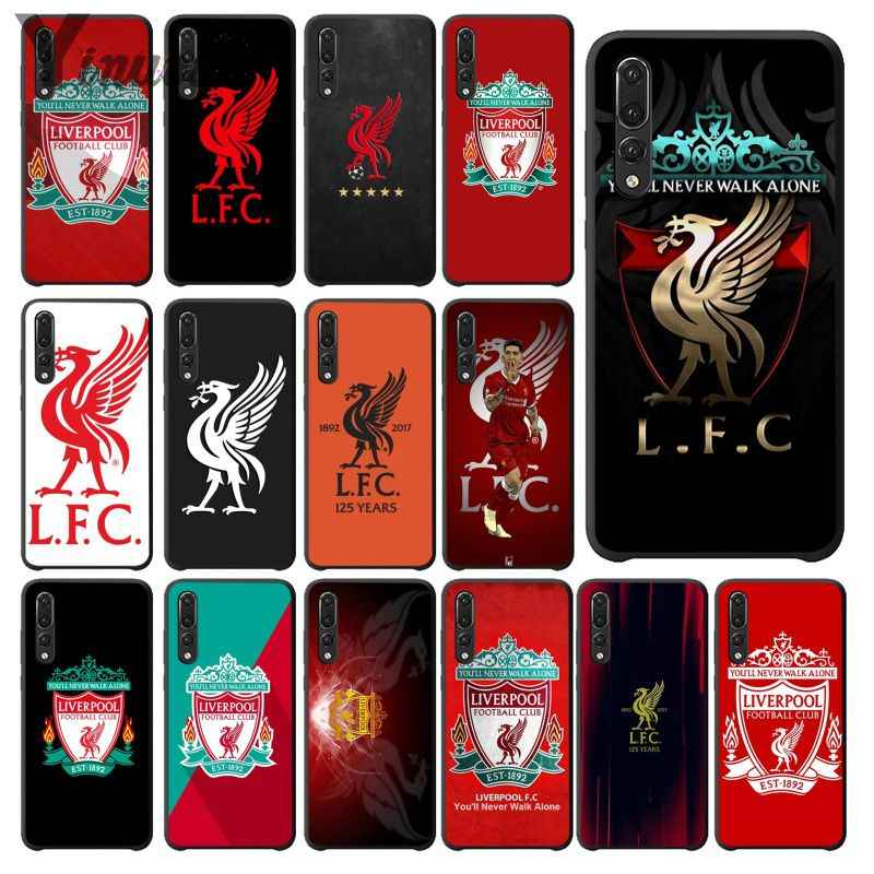 Yinuoda Liverpool FC Customer High Quality Phone Case for Huawei Mate10 Lite P20 Pro P9 P10 Plus View 10 Cover