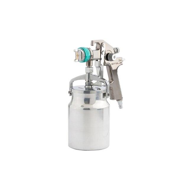 Краскораспылитель пневматический STELS 57366 (Профессиональный, система HVLP, объем бачка 1000 мл, диаметр сопла 1.4 мм, расход материала 100-150 мл/мин, диаметр пневморазъема 1/4 дюйма)