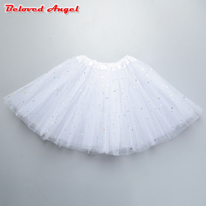 Baby Girls Kids Children Infant Gauze Tutu Dancewear Skirt Ballet Princess Girl Party Ballet Dancing Skirts Pettiskirt 2-8y