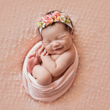 50*150cm Extra Soft Stretch Newborn Photography Wrap For Photo Shooting Baby Photo Props Newborn Swaddle Photography Accessories