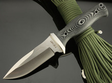 Очень острый AUS-8A стальное лезвие небольшой прямой нож микта ручка охота ся нож фикчированный [ HAOSHENGYI ] 0695 #