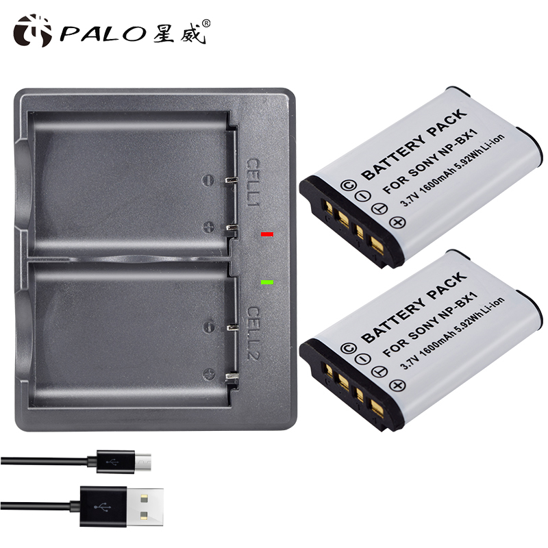 Np-bx1 batería para sony cargador de batería para sony np-bx1 np bx1 Paquete de batería np-bx1 HDR-AS200v AS15 AS100V DSC-RX100 X1000V WX350