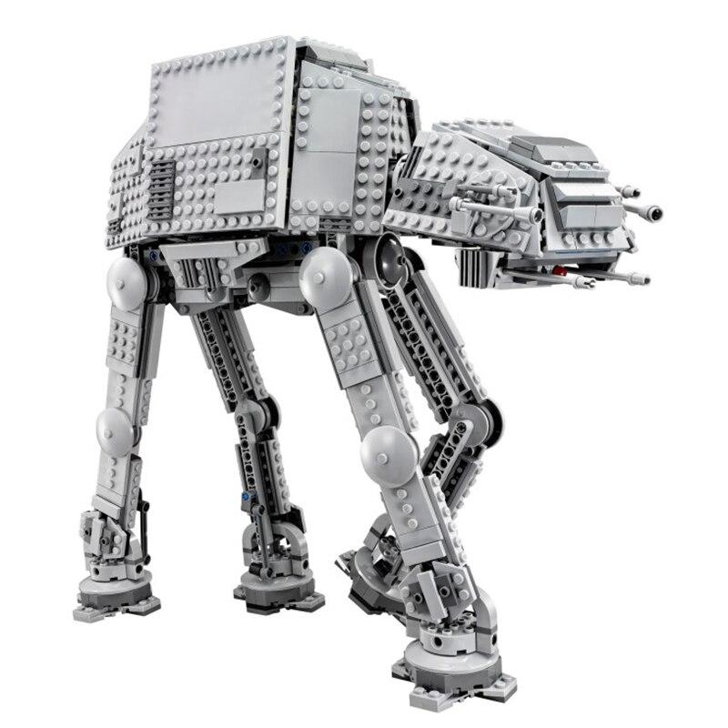 Oyuncaklar ve Hobi Ürünleri'ten Bloklar'de Yıldız Savaşları Serisi 05051 Kuvvet Ulaşmak AT AT Ulaşım Zırhlı Robot Yapı Taşları ile Uyumlu 75054 oyuncaklar'da  Grup 3