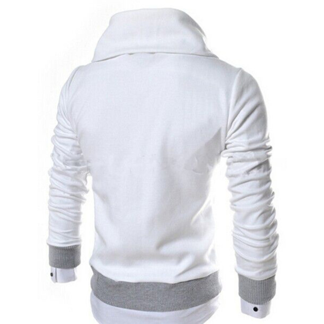 Men Color Hooded Autumn Sweatshirts