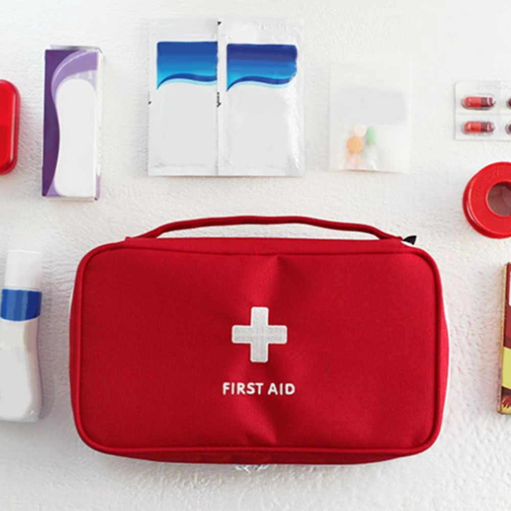 Fashion Style Portable Medium Empty Household Multi-layer First Aid Kit Pouch Outdoor Car Bag First Aid Bag Survival Medine Travel Rescue Bag Back To Search Resultssports & Entertainment Camping & Hiking
