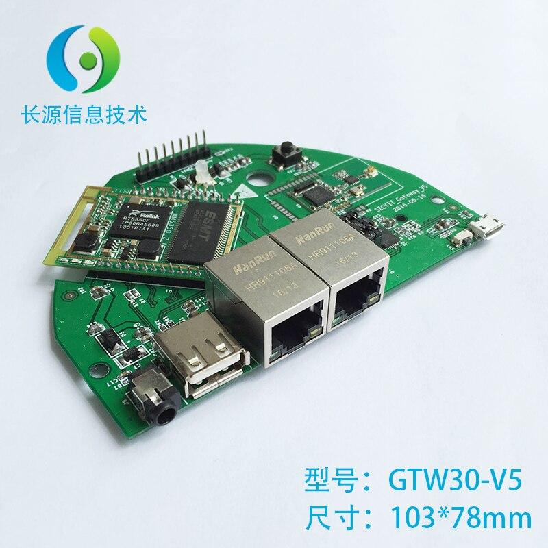 Internet of things gateway, ZigBee gateway, intelligent home gateway, RT5350+CC2530+2538 main board цена