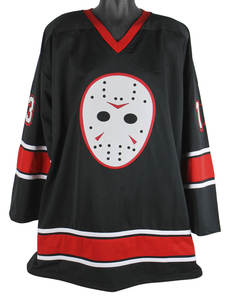 Friday 13th Jason Voorhees Hockey Jersey Embroidery Stitched Customize any  number 80203033a
