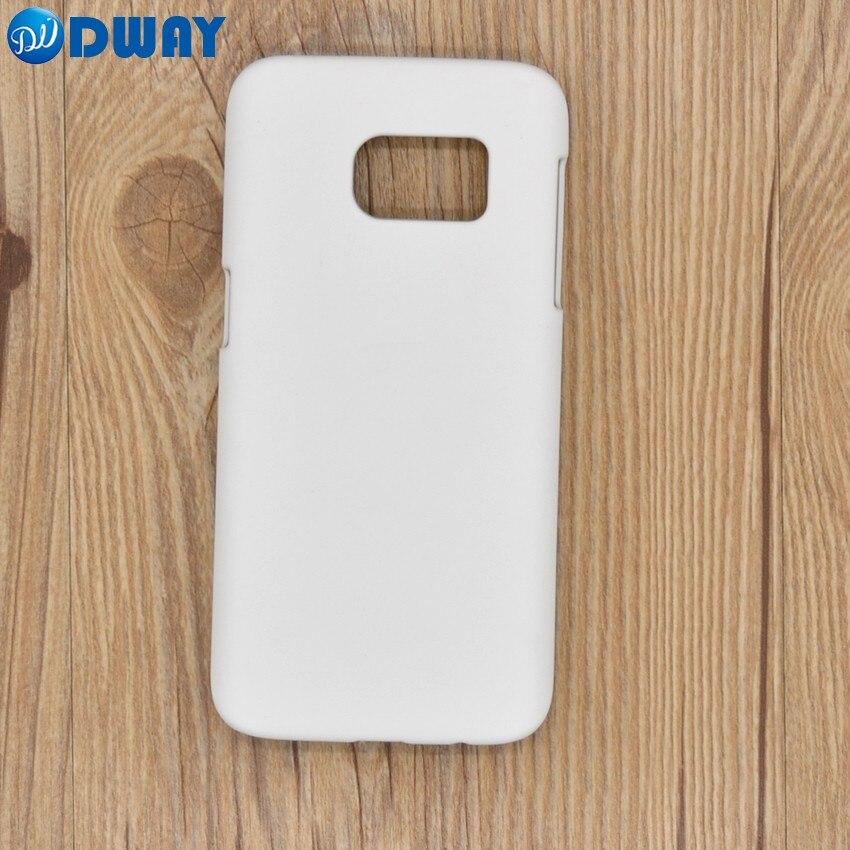 imágenes para 3D PC de la Sublimación En Blanco Caso de la Cubierta para Samsung Galaxy S7 DIY Impresa Caja Del Teléfono de Plástico Duro 50 UNIDS/LOTE