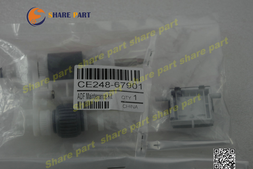 Genuine new CE248-67901 ADF Maintenance Kit For HP CM4540MFP ENT M4555MFP ce248 67901 compatible adf maintenance kit pickup roller assembly for hp 4555 4540 m4555 m4540 printer pick up roller