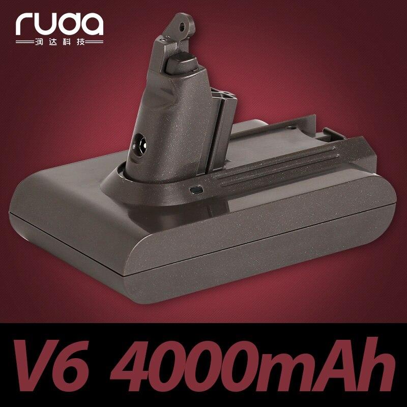 for Dyson DYS 21.6V 4000mAh/4.0Ah V6 Li-ion electrical tools lithium battery DC59 DC62,DC72 965874-02 DC74