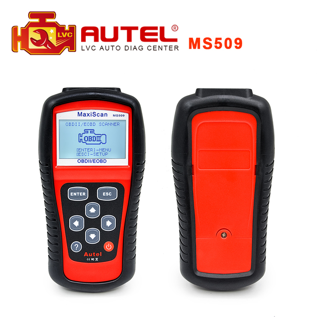 2016 Top selling Autel MaxiScan MS509 OBD2 Code Reader scanner MS 509 High quality Auto Diagnostic scanner Free Shipping