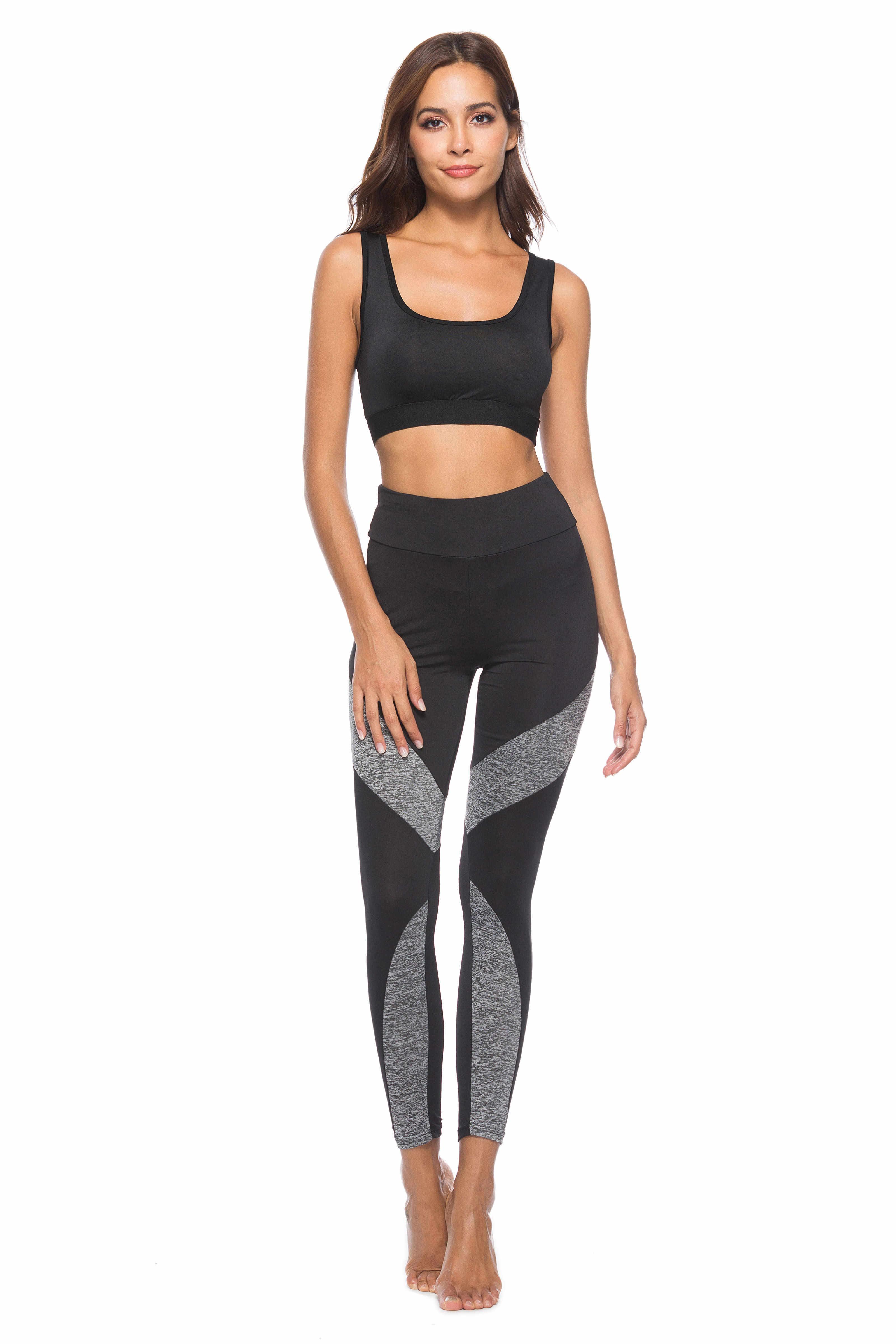 Damskie Sexy szwy legginsy kobiety legging łokcie dla Fitness legginsy Push Up Jeggings Workout Tayt Sportleggings spodnie