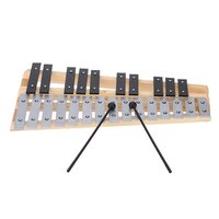 MACH 25 Note Glockenspiel Educational Musical Instrument Percussion Gift with Carrying Bag